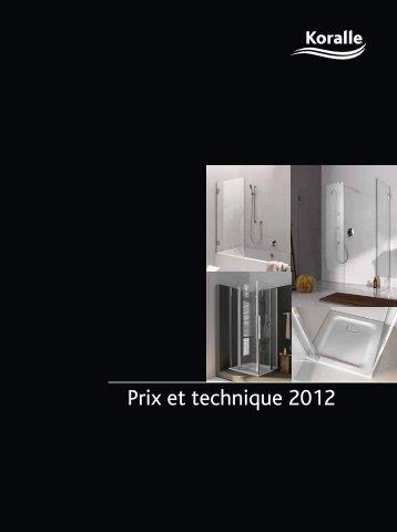 Prix et technique 2012 - de sphinx