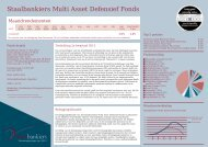 Staalbankiers Multi Asset Defensief Fonds