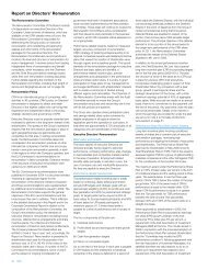 Report on Directors' Remuneration - CRH