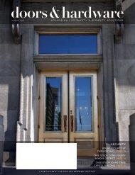August - Door and Hardware Institute