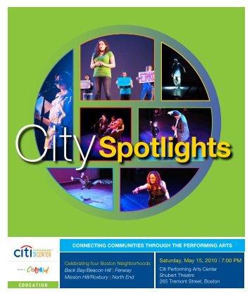 Saturday, May 15, 2010 | 7:00 PM - Citi Performing Arts Center