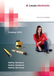 machine safety - Leuze electronic