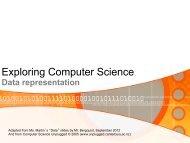 ECS002-Data-Represen.. - Garfield Computer Science
