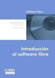 Introducción al software libre - Universitat Oberta de Catalunya