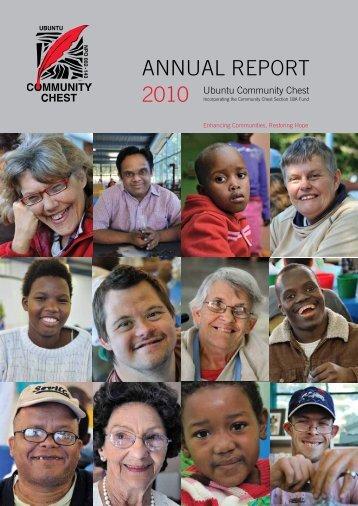 Community Chest Annual Report 2010 - Fine Metals