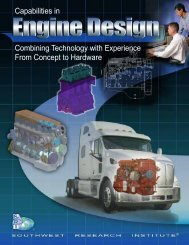 Capabilities in Engine Design, Combining Technology with ...