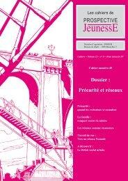 Précarité et réseaux - Prospective Jeunesse