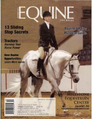 Equine Journal - October 2010 - Phelps Media Group