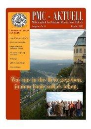 PMC-Aktuell Ausgabe 76/ Oktober 2011