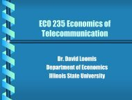Economics of Regulation and Antitrust - Department of Economics ...