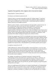 Mujeres contra el ALCA: razones y alternativas http://alainet.org ...