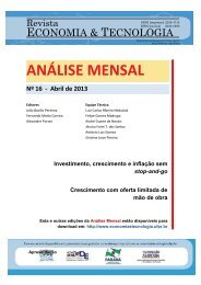 Abril 2013 - Revista Economia & Tecnologia