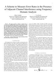 A Scheme to Measure Error Rates in the Presence of Adjacent ...
