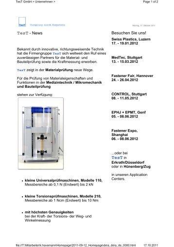 TesT in - TesT GmbH