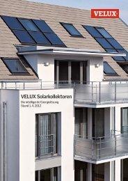 VELUX Solarkollektoren - Die intelligente Energielösung