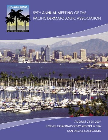 59th annual meeting of the pacific dermatologic association