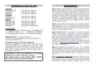 Regolamento campestre 2012-2013 - CSI Lecco
