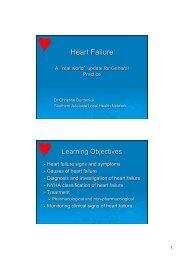 Incidence of Heart Failure - appn