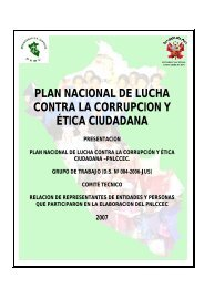 plan nacional de lucha contra la corrupcion y ética ... - Blog PUCP