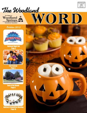 October - The Villages of Woodland Springs Homeowners