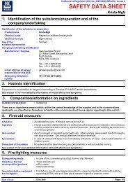 Yara KRISTA MGS Magnesium Sulphate, 25KG - Agsure