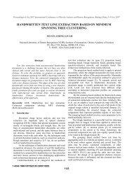 handwritten text line extraction based on minimum spanning tree ...