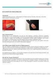 Neurologie | Patientenfaltblatt Botulinumtoxin-Spezialambulanz