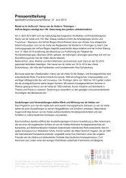 Pressemitteilung - Van-de-Velde-Jahr 2013