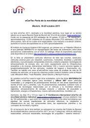 eCarTec Feria de la movilidad eléctrica - Green Cars España