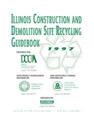 illinois construction and demolition site recycling guidebook