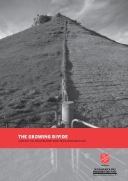 The Growing Divide (PDF, 924KB) - The Salvation Army