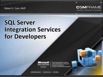 SQL Server Integration Services for Developers - WordPress – www ...