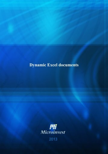 Dynamic_Excel_documents - Microinvest