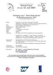 Birkesdorf Open 01.Juni –03. Juni 2007 ... - KSG Aktiv: Home
