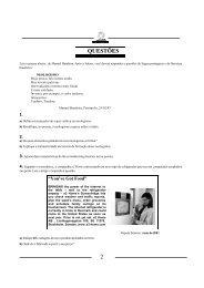 Exame Classificatório Geral de 2005 - Unicamp