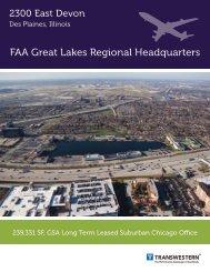 FAA Great Lakes Regional Headquarters - Transwestern
