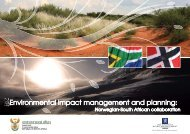 Environmental impact management and planning: - Norway