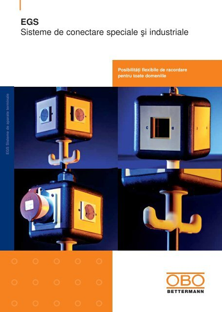 Sisteme de conectare speciale şi industriale - OBO Bettermann