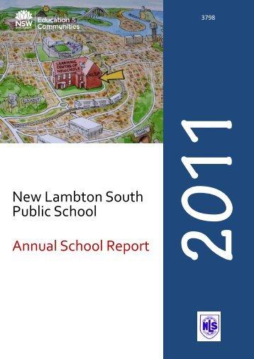 New Lambton South Public School Annual School Report