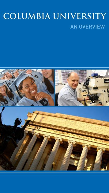 Download the 2012 University Brochure - Columbia University