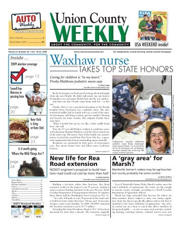 Waxhaw nurse - Carolina Weekly Newspapers