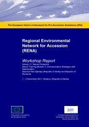 Workshop Report - Renanetwork.org