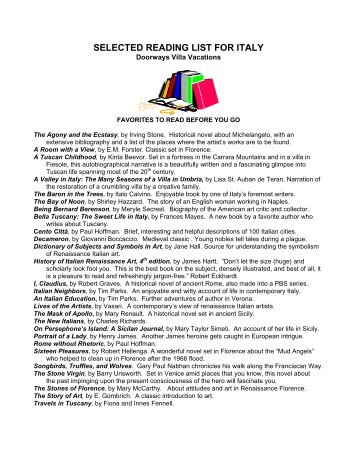 Selected reading list state building in the 21st chatham house selected reading list for italy villa vacations fandeluxe Gallery