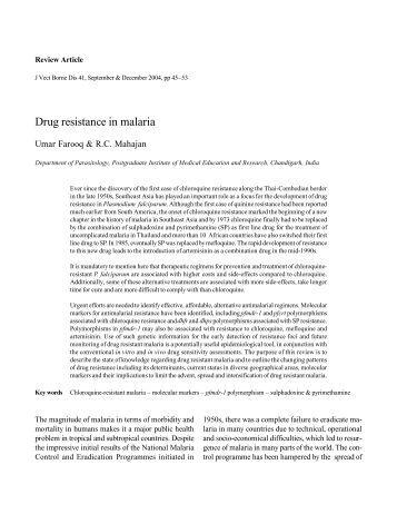 Essay about malaria