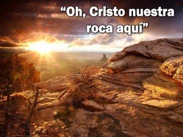 """""""Oh, Cristo nuestra Roca aquí"""" - Editorial La Paz"""