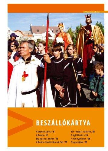 Veszprém és a Bakony – Beszállókártya