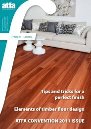 Tips and tricks for a perfect finish Elements of timber floor design ...