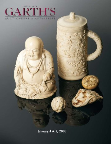 Asian, European & Modern Decorative Arts - Garth's Auctions, Inc.