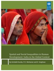 Spatial and Social Inequalities in Human Development: India in the ...