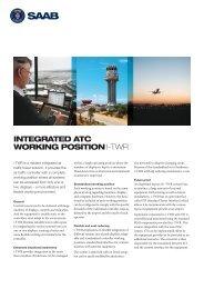 i-TWR product sheet (pdf) - Saab
